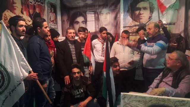 اشد  ينظم وقفة تضامنية مع الأسرى الفلسطينيين في طرابلس