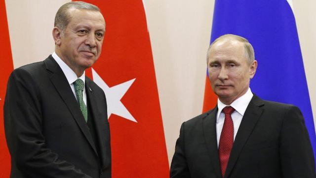 اتفاق بين بوتين وأردوغان لتنسيق الحل في سوريا