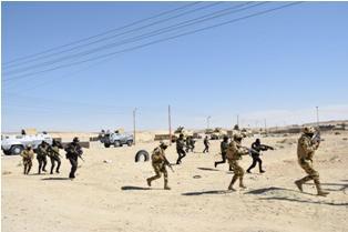 مصر : مقتل ناصر أبو زقول أمير التنظيم الإرهابي بوسط سيناء