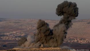 مقاتلات تركية تقصف عفرين وروسيا قلقة إزاء العملية العسكرية