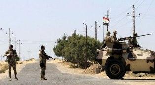 الجيش المصري يعلن القضاء على 21 مسلحا ضمن عمليته الشاملة للقضاء على الإرهاب بسيناء