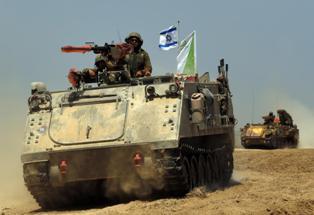 إصابة جندي إسرائيلي في رأسه على حدود غزة