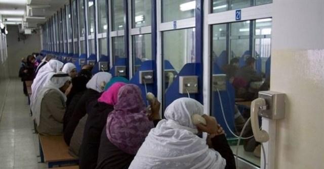 أهالي أسرى غزة يزورون أبناءهم في نفحة