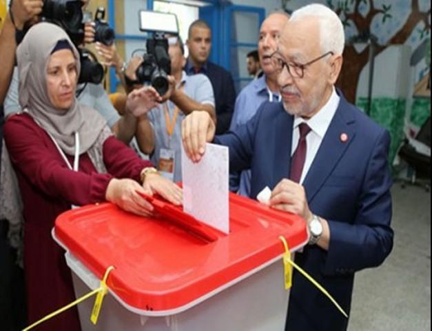 النهضة يتقدم بعد انتهاء العملية الانتخابية في تونس
