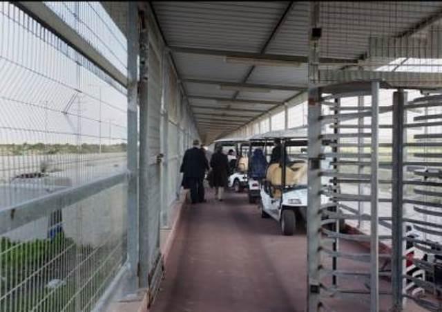 46 من أهالي أسرى غزة يتوجهون لزيارة ذويهم في نفحة