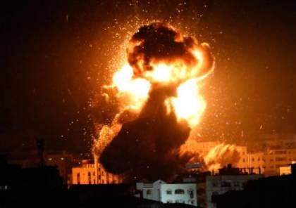 طيران الاحتلال الاسرائيلي يقصف سوريا