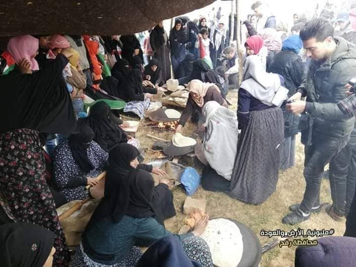 رغم الحصار والإغلاق..المقاومة الحياتية في قلب مسيرات العودة