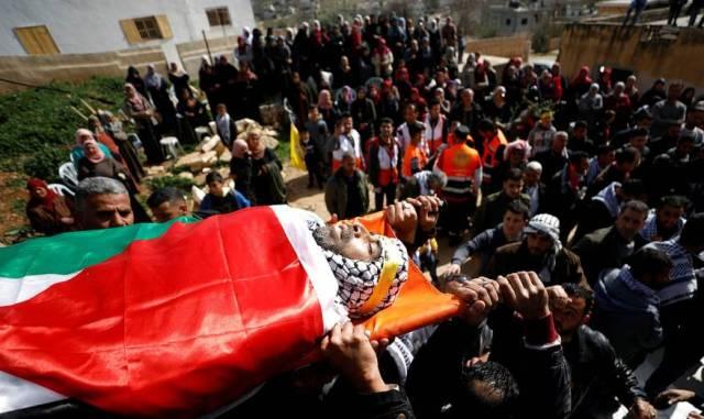 11 شهيداً برصاص الاحتلال خلال يناير الماضي
