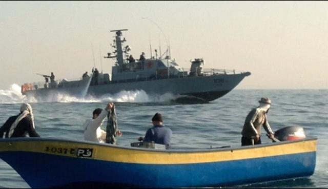 إصابة صيادين برصاص الاحتلال قبالة بحر غزة