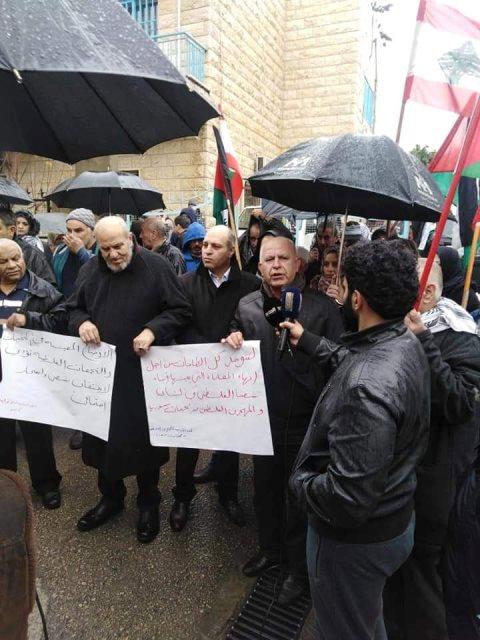 اعتصام جماهيري غاضب في البداوي لمطالبة الاونروا  بخطة طوارئ