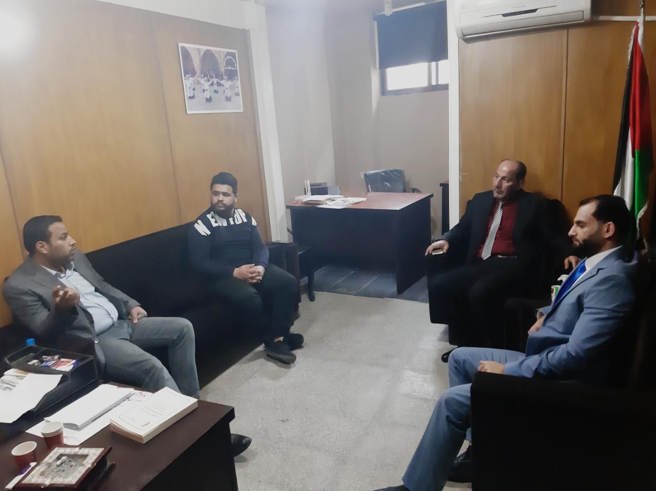 «أشد» يستقبل سكرتير اتحاد الشبيبة الديمقراطي العراقي