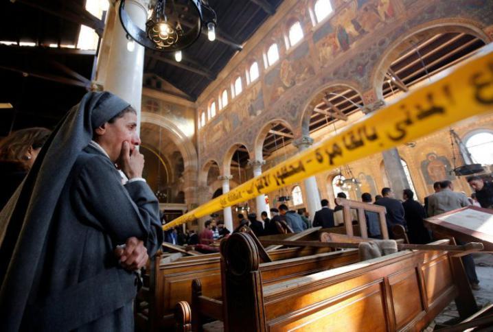 مقتل ضابط وإصابة آخر في انفجار عبوة ناسفة بمحيط كنيسة شرق القاهرة