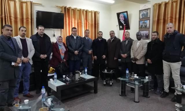 الأطر والمؤسسات الصحفية والحقوقية تلتقي المراقب العام لوزارة الداخلية بغزة