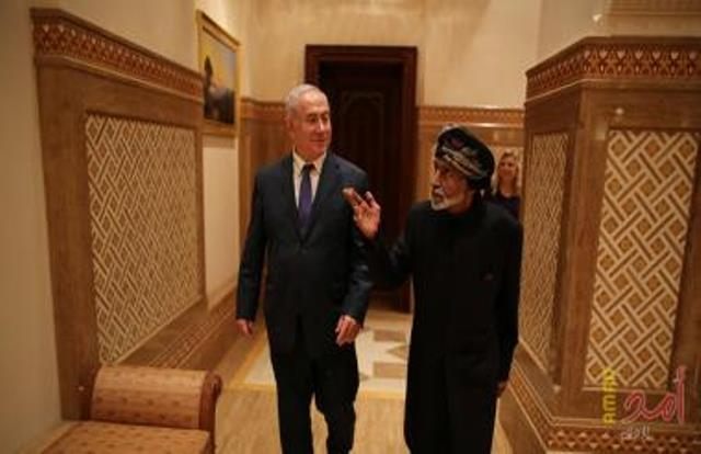 نتنياهو يكشف عن موافقة سلطنة عُمان لتحليق الطيران الاسرائيلي فوق اجوائها