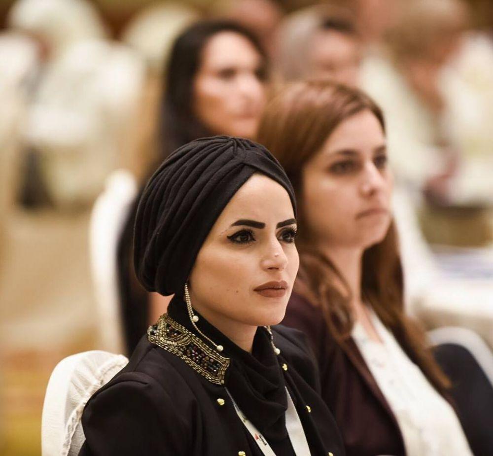 الفلسطينية هبة الفرا تفوز بلقب بطل الأرض