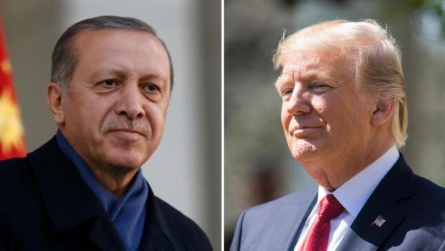 ترامب يعلن رفع العقوبات عن تركيا بشرط