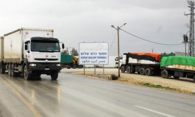 الانتهاء من إنشاء ساحة جمركية قرب كرم أبو سالم