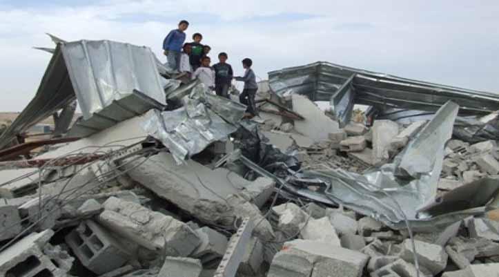 إلى جانب مشكلات التعليم وتداعيات «كورونا»..النقب في مرمى عمليات هدم البيوت ومصادرة الأراضي
