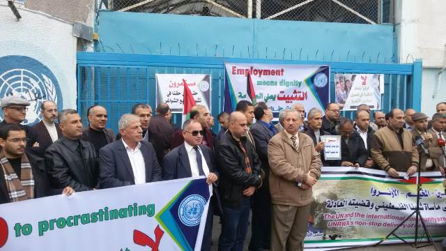 اللجنة المشتركة للاجئين تدعو مؤتمر المشرفين على شؤون الفلسطينيين بالقاهرة لحشد الدعم الدولي لتجديد التفويض الممنوح للأونروا