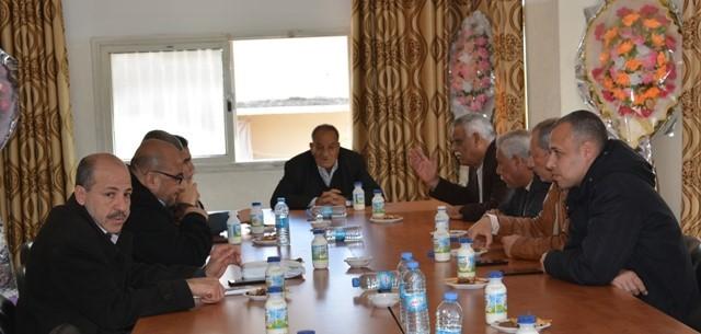 غزة: قيادة «الديمقراطية» تستقبل وفداً قيادياً من «حماس» مهنئاً بالانطلاقة 50