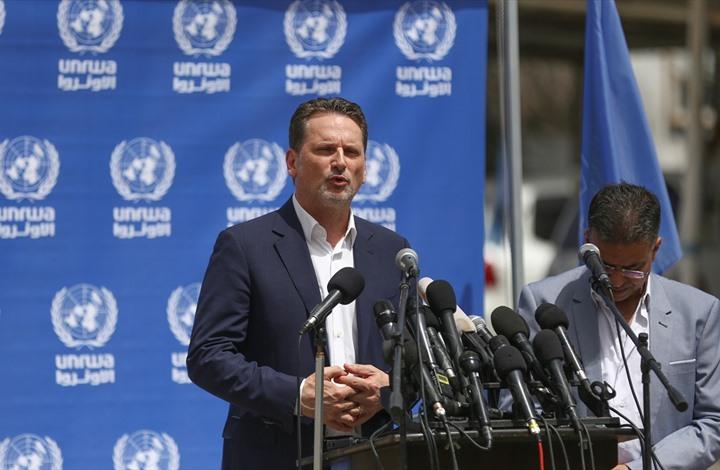 بيروت : مؤتمر دولي لدعم الأونروا في سبتمبر القادم