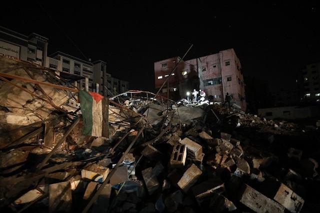 حقوق الانسان : قطاع غزة تعرض لـ 66 غارة إسرائيلية خلال 12 ساعة