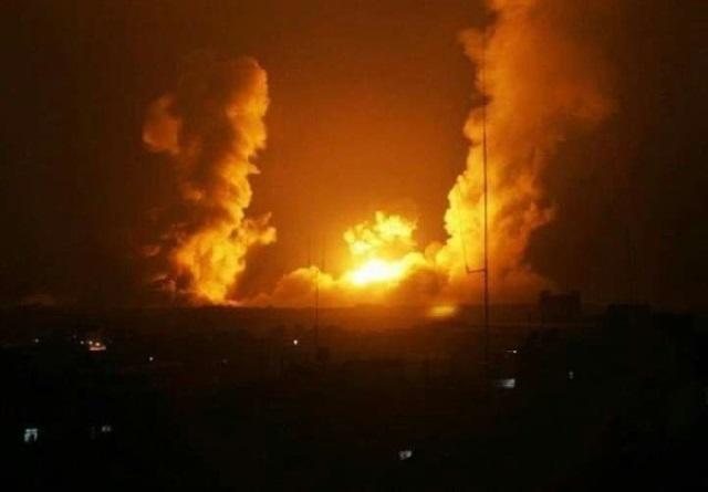 قصف اسرائيلي على ريف القنيطرة الغربي