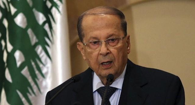 الرئيس اللبناني يوجه تهديداً لإسرائيل