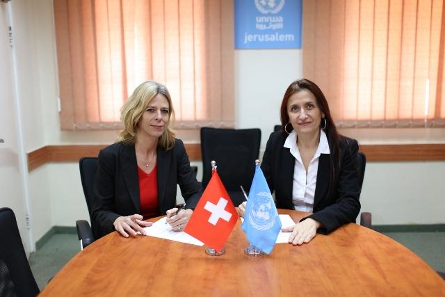 دائرة وكالة الغوث في «الديمقراطية» ترحب باستئناف سويسرا دعم موازنة الوكالة
