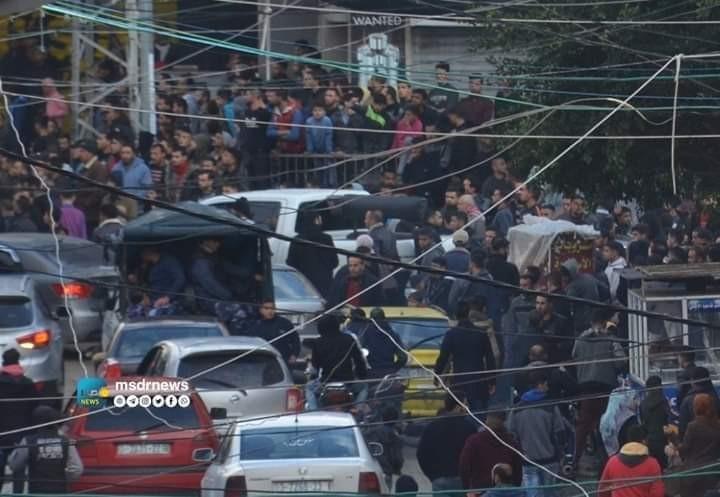 التجمع الإعلامي الديمقراطي يدين قمع الصحفيين خلال تغطيتهم تظاهرات غزة المطلبية