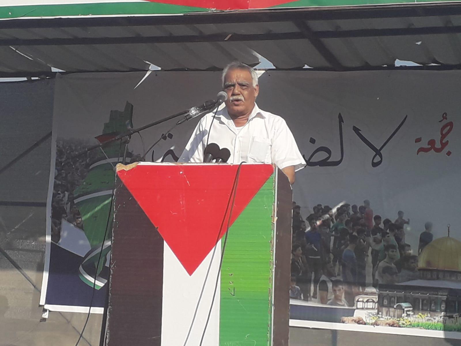 صالح ناصر: تهديدات قادة الاحتلال ضد قطاع غزة لن تنال من عزيمة شعبنا الفلسطيني