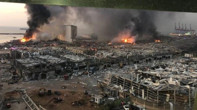 عشرات الضحايا وآلاف الجرحى في انفجار هائل بالعاصمة اللبنانية ومجلس الدفاع الأعلى: بيروت مدينة منكوبة