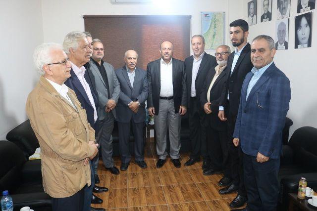 لقاء بين «الديمقراطية» وحماس في لبنان : تطوير العمل الفلسطيني المشترك لضمان الحياة الكريمه لشعبنا في المخيمات