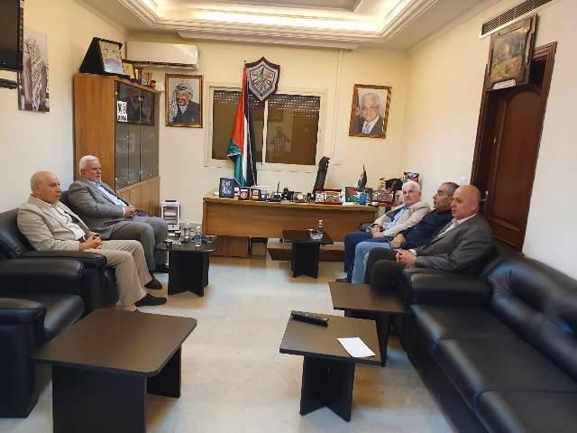 «الديمقراطية» و«فتح» في لبنان تعرضان قضايا الشعب الفلسطيني والاوضاع العامة