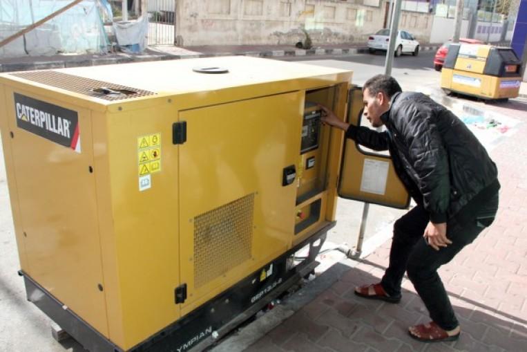 كهرباء غزة :  المولدات التجارية المنتشرة في القطاع ليست من مهامنا واختصاصنا
