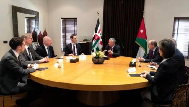 عمان : النقابات تدين زيارة كوشنر وتؤكد: صفقة ترامب لن تمر