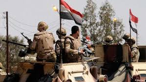 الجيش المصري .. شهداء وإصابات بانفجار شمال سيناء