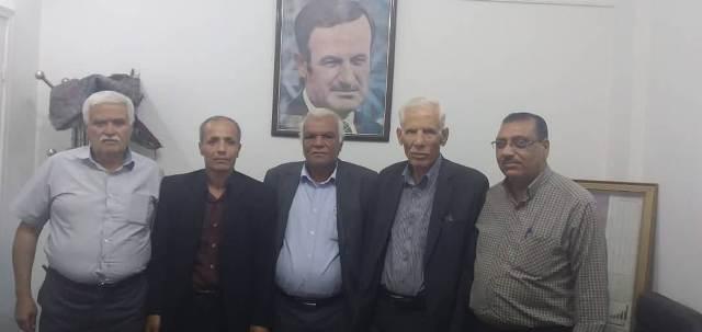 «الديمقراطية» بإقليم سوريا: فلتتضافر كل الجهود في خدمة أبناء شعبنا الفلسطيني