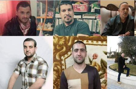 6 أسرى يواصلون إضرابهم عن الطعام ضد اعتقالهم الاداري
