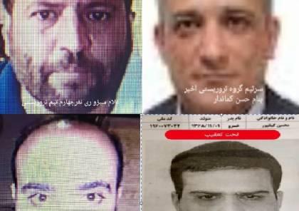 ايران تنشر صور منفذي اغتيال العالم النووي الايراني
