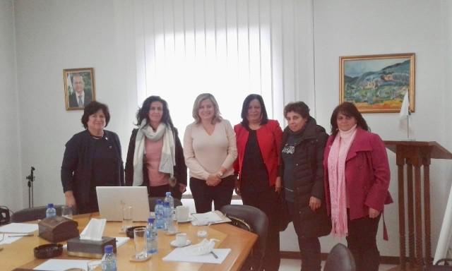 «ندى» تلتقي بالسيدة كلودين عون روكز رئيسة الهيئة الوطنية لشؤون المرأة اللبنانية