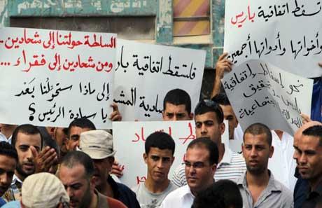 علينا ان نلوم نظامنا الاقتصادي لا ان نلوم العامل الفلسطيني في اسرائيل