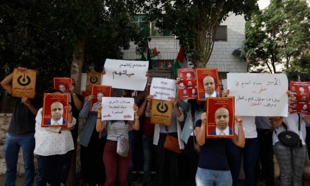 غنام يدخل يومه المائة من الإضراب عن الطعام
