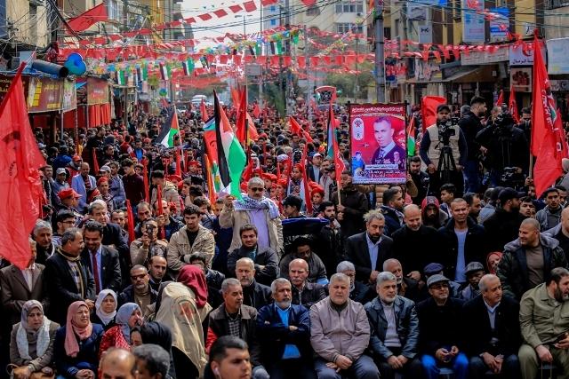 انطلاقة الجبهة الديمقراطية الـ51 في غزة