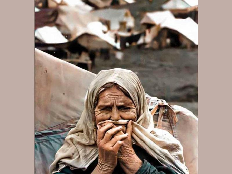 معاناة النكبة الفلسطينية