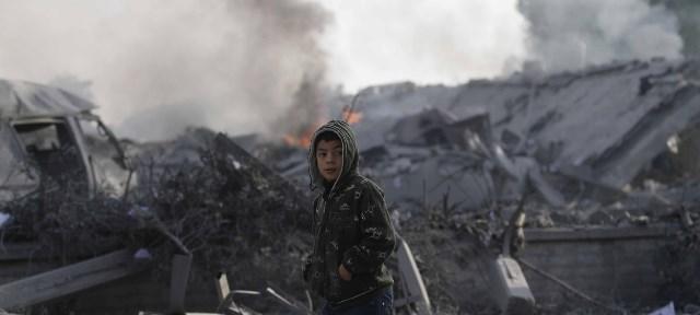 هكذا تستقبل غزة عامها الجديد