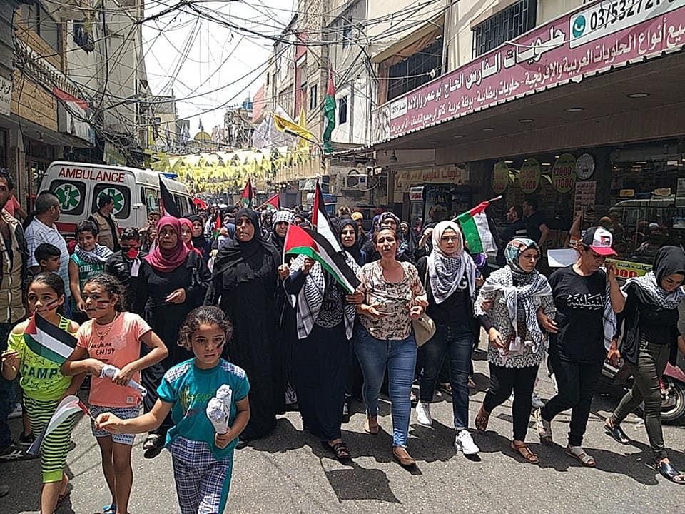 الشعب الفلسطيني ينتفض رفضاً لإجراءات وزارة العمل اللبنانية